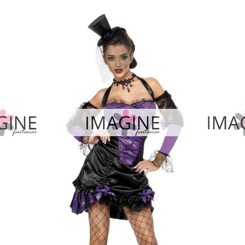 Fantasia Dançarina de Cabaret Purple