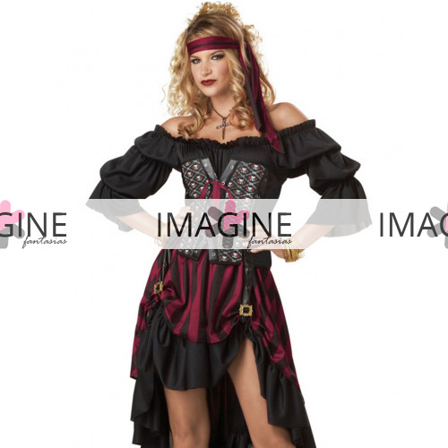 Fantasia Pirata Corset Luxo