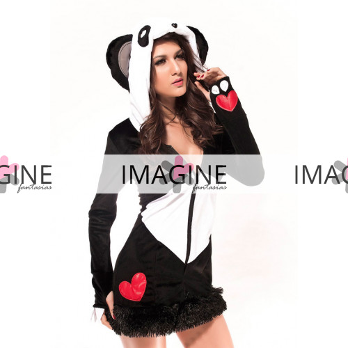 Fantasia Urso Panda