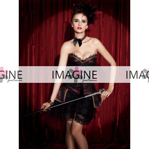 Fantasia Burlesque Corset Luxo