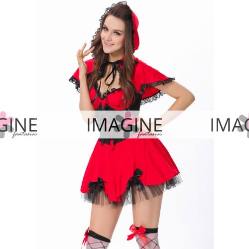 Fantasia Chapeuzinho Vermelho (1)