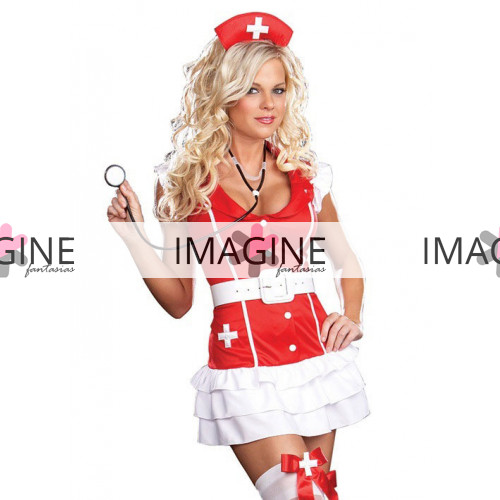 Fantasia Enfermeira Red (1)