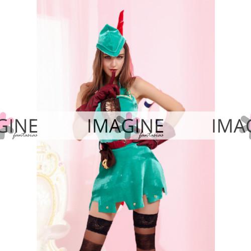 Fantasia Feminina Robin Hood 3 Importada