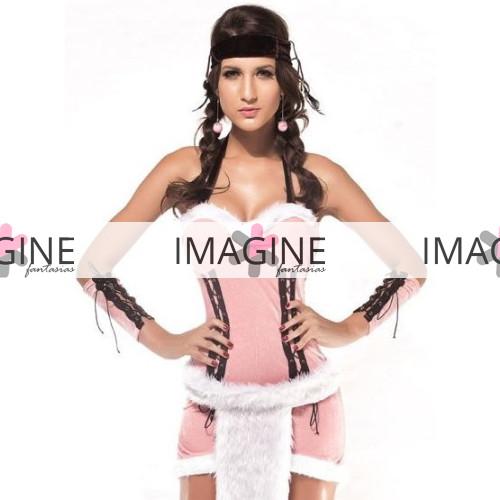 Fantasia Índia Americana Pink