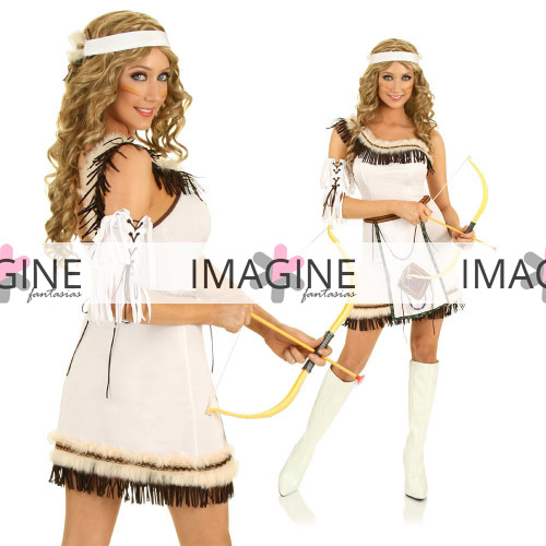 Fantasia Índia Americana White