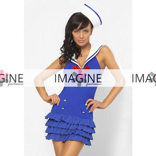 Fantasia Marinheira Vestido Importado Pronta Entrega