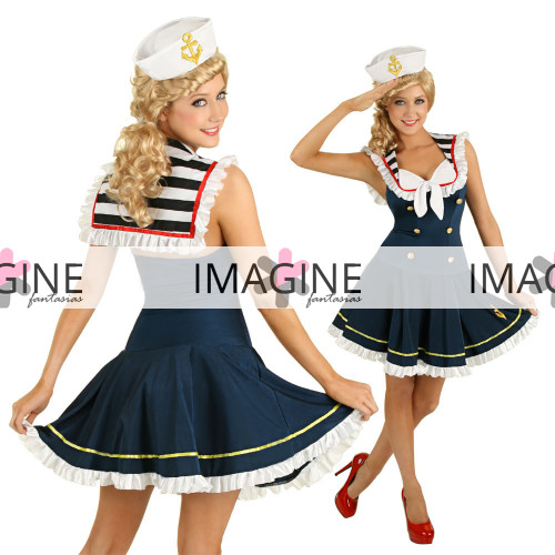 Fantasia Marinheira Vestido Importada Pronta Entrega GG