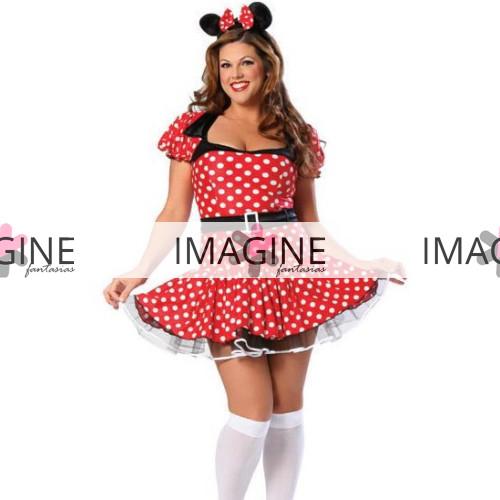Fantasia Minnie Plus Size