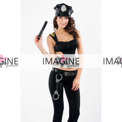Fantasia Policial Swat Feminina
