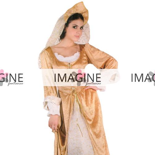 Fantasia Rainha Medieval Renascentista Luxo