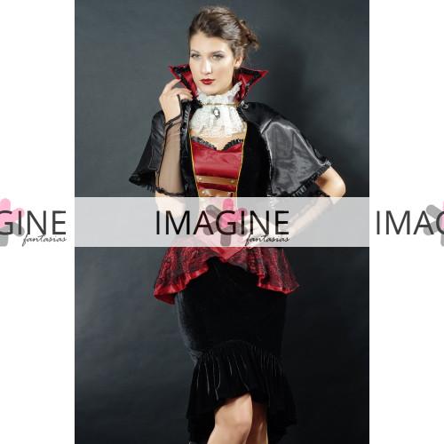 Fantasia Vampira Punk Luxo